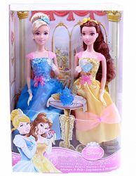 Игровой набор Mattel Золушка и Белль Королевское чаепитие