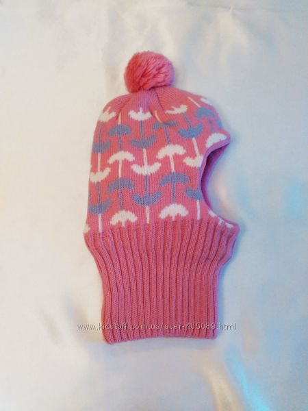 Зимняя шапка-шлем на флисе р. 50-52