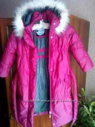 Куртка - пальто для девочки Luhta, Финляндия, 98р.