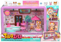 Twozies Cafe Playset Набор пупсы Тузис кафе