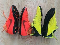Бутсы Nike и сороконожки Adidas  35, 5 р