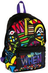 Разноцветный молодежный рюкзак 15 л. Paso BDD-220