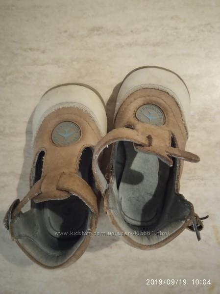Туфельки, натуральная кожа