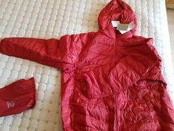 Куртка Uniqlo ultra light с капюшоном XXXL