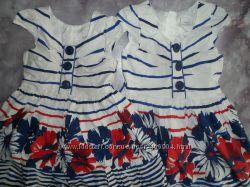Нарядные платья Next для девочек погодок