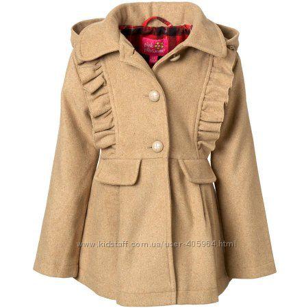 Пальто Pink Platinum 7-8лет с Америки