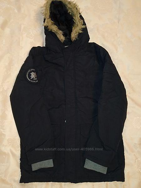 Куртка парка на 11-12 лет