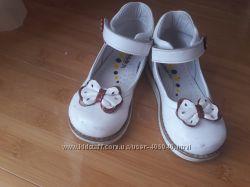 Дитячі ортопедичні туфельки для дівчинки