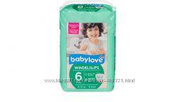 Детские одноразовые подгузники Babylove Windelslips  6 XXL  18-30 кг тру