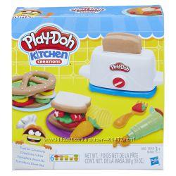 Игровой набор Плей До Тостер Play-Doh Kitchen Creations Toaster Creations
