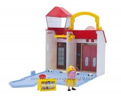 Игровой набор мини пожарная свинки Пеппы Peppa Pig Firehouse Little Places