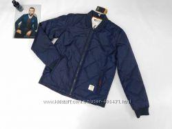 Куртка мужская демисезонная стеганная на синтепоне, Италия ра