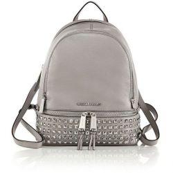Рюкзак michael kors Rhea studded pearl grey backpack оригинал