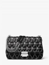 Сумка Michael kors Sloan Large Quilted Leather  оригинал