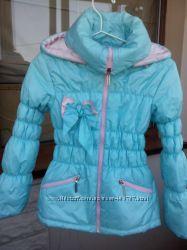 Baby Angel Красивая теплая куртка на флисе р. 140