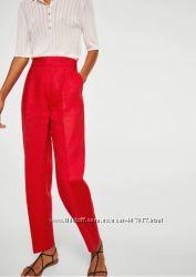 Стильные красивые брюки 100 лен mango испания 36-38