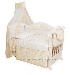 Детская постель Twins Romantic 6 эл R-003 Baloniki
