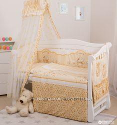 Детская постель Twins Standart Зайчики на полосках C-023