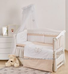 Детская постель Twins Evolution I love 7 эл А-038