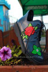 Кожаные ботинки от производителя