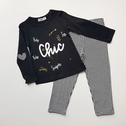 Комплект из модной кофты и стильных штанишек, Wanex. От 98 по 122р