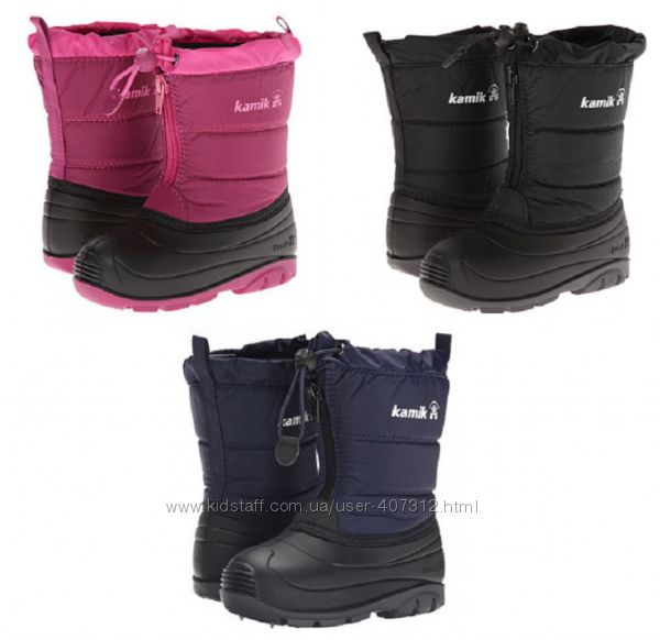 Зимняя детская обувь от известных брендов.