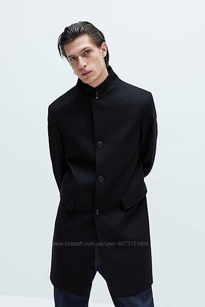 Шерстяное пальто Zara. Размеры m, xl