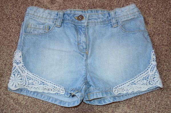 шорти джинсові Nutmeg 7-8 р