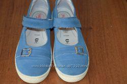 Замшевые туфельки Superfit на узкую ножку