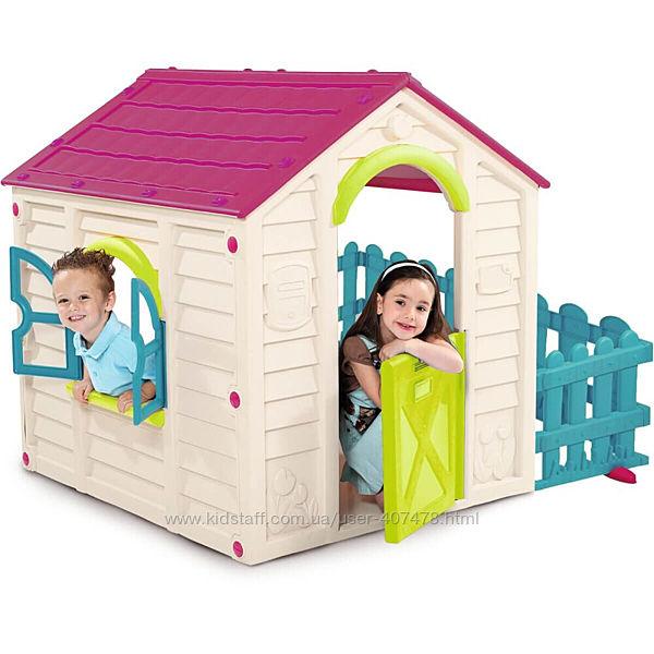 Домики для детей в сад Keter My Garden и Magic House