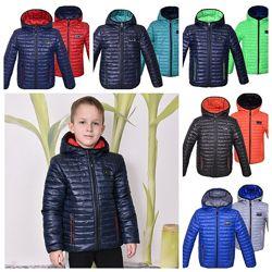 Демисезонная двухсторонняя куртка Спорт р. 98-164