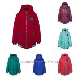 Демисезонная куртка для девочки Драйв, р. 134 140 146 152