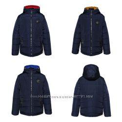 Демисезонная куртка-трансформер 2 в 1 для мальчика Тайфун,  р. 134-152