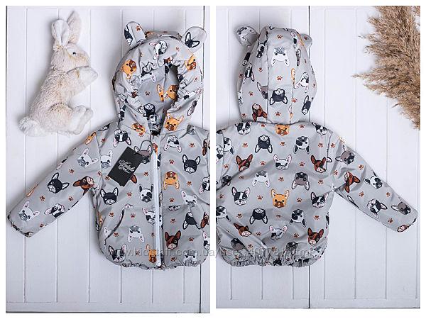 Демисезонные курточки для мальчиков, р.86-134