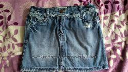 Джинсовая юбка Next  10 лет
