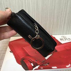 Ключница женская кожаная Butun 784-004 001 черная