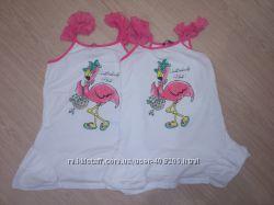 Летние платья для девочек двойняшек