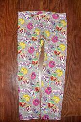 Утепленные лосины,  трехнитка с шопкинс Shopkins 2-3 года H&M