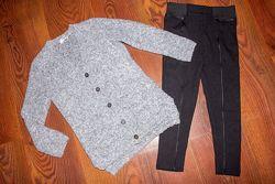 Плотные лосины, леггинсы, брюки на девочку 5-6 лет