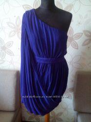 Платье р 14 нарядное фиолетовое