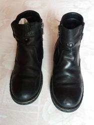 Ботинки демисезонные Tiflani, верх и стелька кожа, 36 размер.