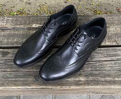 Мужские туфли броги VRX натуральная кожа 40-45