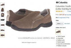 Columbia замшевые туфли - мокасины, оригинал из США