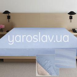 Простыни сатиновые на резинке ТМ Ярослав, 90х200