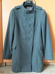 Кашемировое демисезонное полупальто пальто New Look 46размер