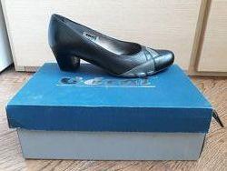 Туфли женские натуральная кожа 37 размер goral Польша