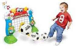 Интерактивные футбольные ворота Clementoni 60243 музыка для самых маленьких