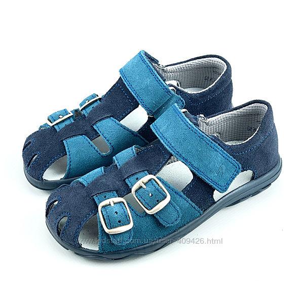 Кожаные сандалии мальчику Richter Австрия
