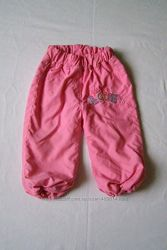 Штани на флісі дівчинці на 1-1,5 рр. Осінь-зима. Нові