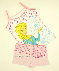 Наборы трусики и майка Disney Frozen Принцессы Человек паук